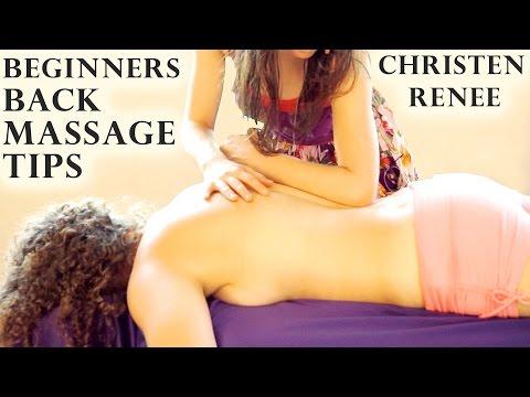 Swedish Back Massage Therapy, How To Massage Back, Softly Spoken ASMR & Relaxation Music