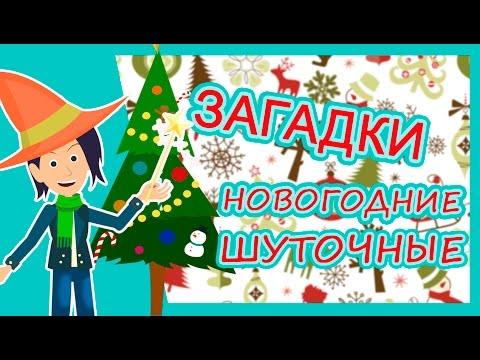 ЗАГАДКИ новогодние шуточные/загадки для детей