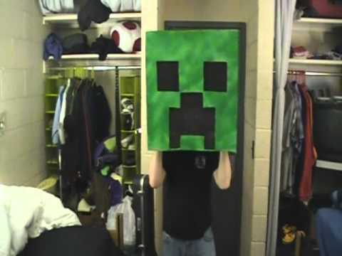 Creeper Costume for Youmacon 2011 (Making Of) - Minecraft