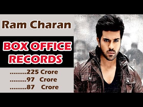 #RamCharan Box office Records Telugu  Movies till  2018