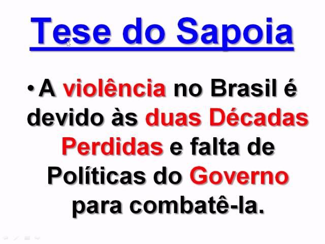 A VIOLÊNCIA no BRASIL está caindo, graças ao NOVO MILAGRE ECONÔMICO
