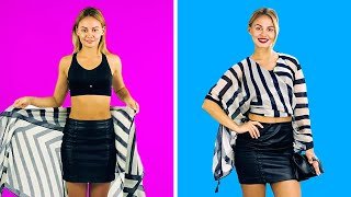 37 CLOTHING HACKS TO TAKE YOUR LOOK TO THE NEXT LEVEL