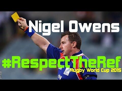 Nigel Owens - #RespectTheRef