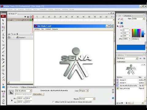 Como crear un Clip de Película en Flash CS3