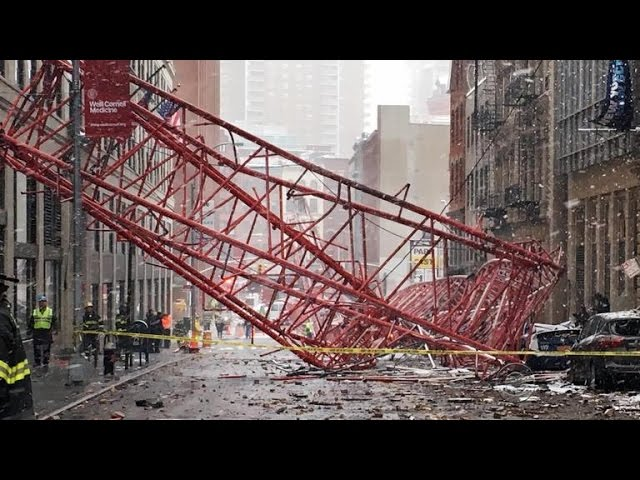 One dead in NYC crane collapse