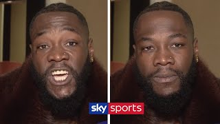 EXCLUSIVE! Deontay Wilder sends aggressive message to Dillian Whyte & says Tyson Fury CAN'T punch