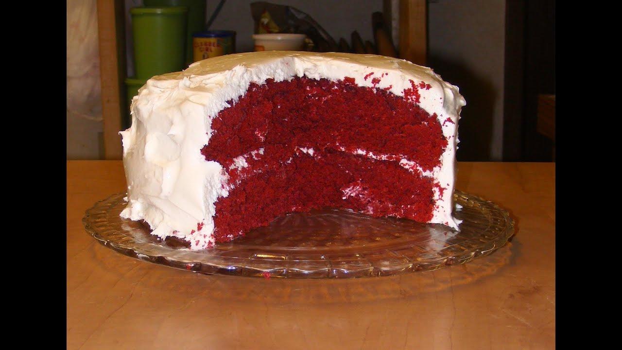 Icing On A Red Velvet Cake