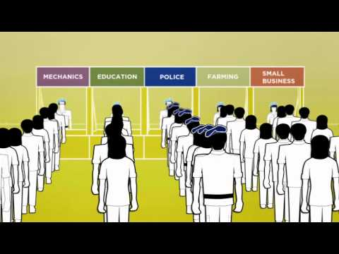 UN Peacekeeping animation - Security and rule of law in the field