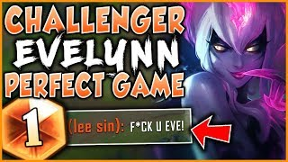 HOW TO PLAY EVELYNN PERFECTLY IN SEASON 9! RANK 1 EVELYNN WORLD GAMEPLAY! - League of Legends