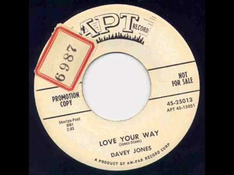 Thumbnail of video Davey Jones - Love Your Way.