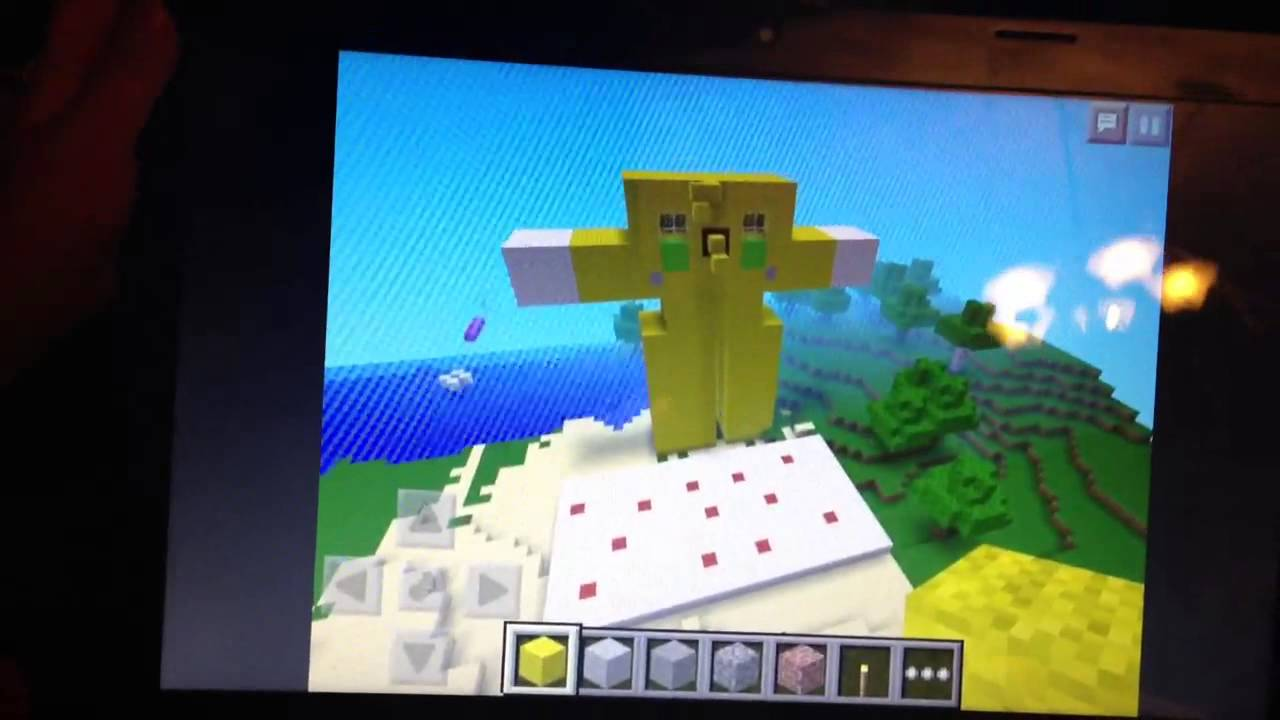 Minecraft Stampy Cat Cake
