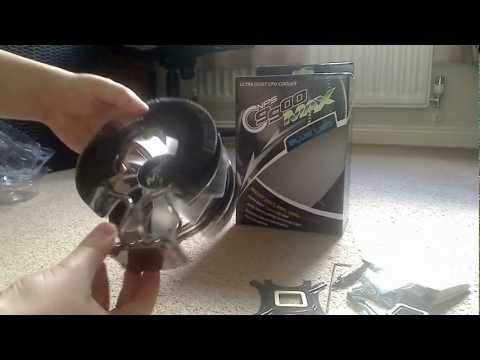 Zalman CNPS9900 MAX Blue LED CPU Cooler Unboxing and First Look