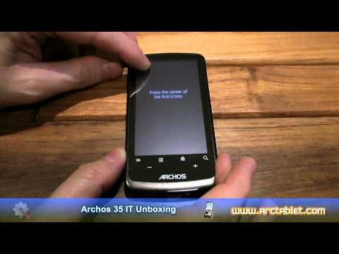 Archos 35 IT Unboxing