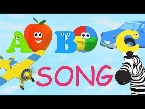 Alphabet Song teaches TWO words per letter!