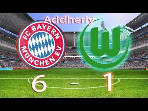 Bayern Munich vs Wolfsburg  6 - 1   HD RESUMEN SEMIFINAL GOLES