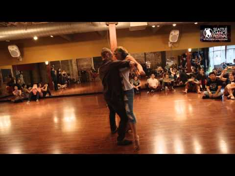 Joshua and Xtine - Dance Festival at the Center of the Universe 2015 - Swouk Zouk WCS Demo 1