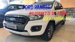 Ford Ranger Wildtrak 2.0L Bi Turbo màu Trắng - giá Ford Rager 2019 ?