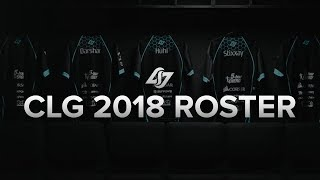 Counter Logic Gaming 2018 Roster Announcement