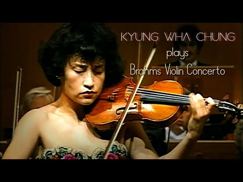 Kyung Wha Chung plays Brahms violin concerto (1996) Music Videos