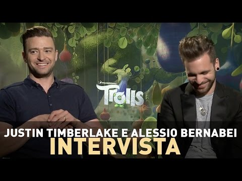 TROLLS: BadTaste.it intervista Justin Timberlake e Alessio Bernabei