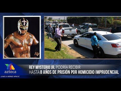 Rey Mysterio Jr. Es Detenido Por El Asesinato Del Hijo Del Perro Aguayo. video