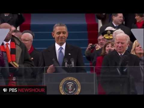Watch President Obama Deliver His Second Inaugural Address