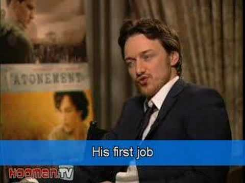 James McAvoy -HIS LIFE as told by himself (English subtitles)