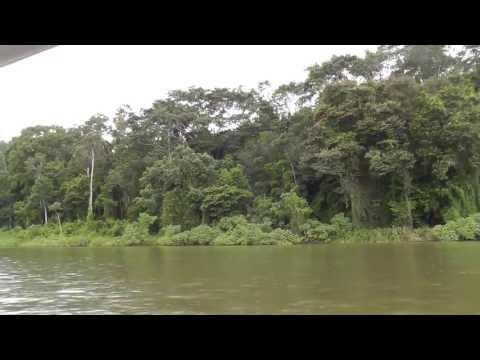 Nicaragua - Costa Rica Border on the Rio San Juan , Nicaragua