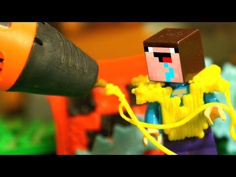 НУБ МАЙНКРАФТ и 3Д РУЧКА DIY - Лего Мультики Все Серии Подряд Мультфильмы для Детей СБОРНИК