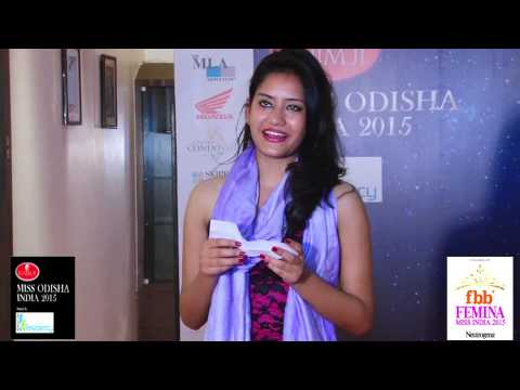 Miss Odisha India 2015 - Cine Round - Priyanka Kumari.