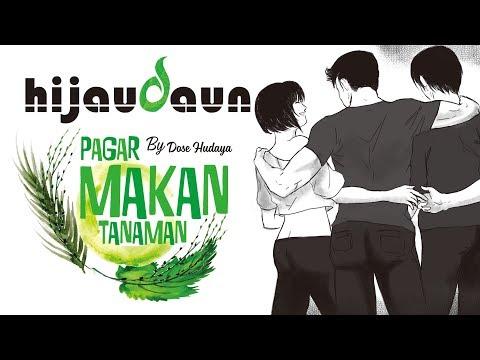Hijau Daun - Pagar Makan Tanaman ( Lyric)