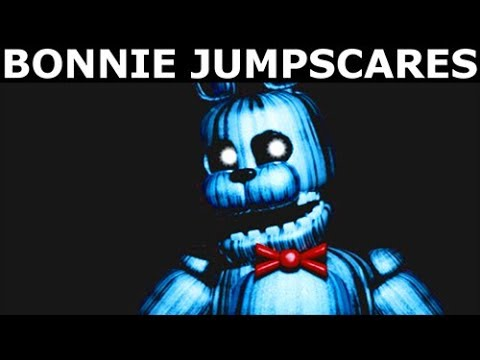 JOLLY 3: Chapter 1 & 2 Bonnie Animatronic Jumpscares (FNAF Horror Game 2018)