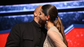 Vinsel & Deepika Padukone KISS At: Return Of Xander Cage Movie Press Conference