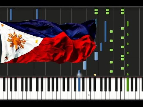 Lupang Hinirang - Philippine National Anthem [piano Cover Tutorial] (♫) video