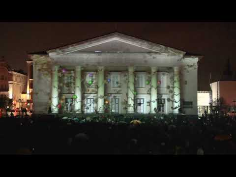 3D Projection on Vilnius Town Hall, Rotuses aikste (Lithuania, 2009)