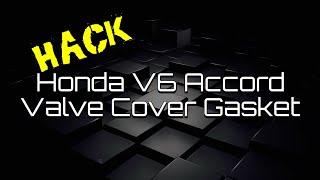 Honda Acura Accord Odyssey Pilot Ridgeline V6 Valve Cover Replacement J Series TL CL MDX