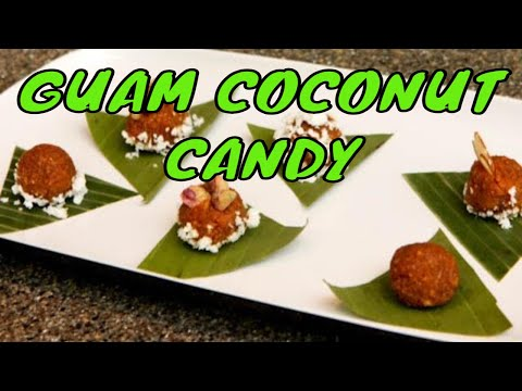 Guam coconut candy