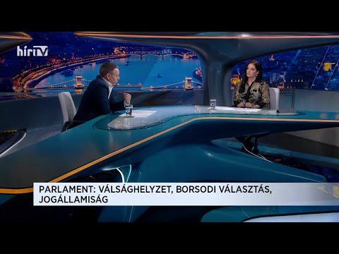 Magyarország élőben extra: Boros Bánk Leventével (2020-10-05) - HÍR TV