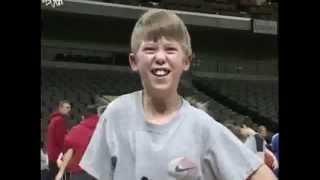 Zombie Kid Loves Basketball