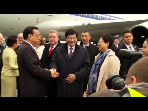 Chinese Premier Lei arrives in Shannon Airport