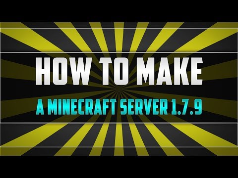 How To Make A Minecraft Server 1.7.9 No Port-forward Or Hamachi