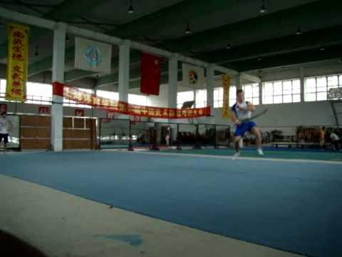 Wushu Training at Shanghai University of Sports 2008