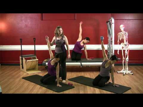 Upside-Down Pilates – Advanced Level Arm Exercises –  48 – Full 30 Minute Pilates Workout – HD