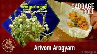 ஊழலாற்றி மருத்துவ குணங்கள்   Stuffed Gabbage Roll   Arivom Arogyam
