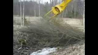 Brush Cutter Excavator