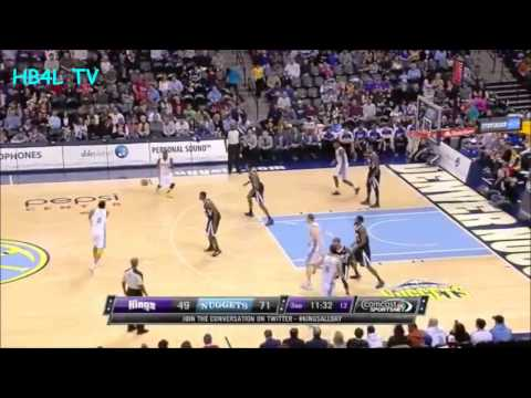 "Ty Lawson 26 pts. Highlights ""Nuggets vs. Kings"" (01.26.13) HB4L TV"