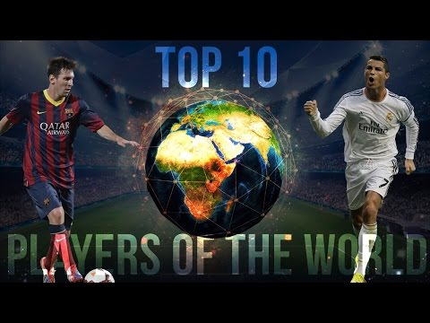 Top 10 Best Football Players in the World 2017