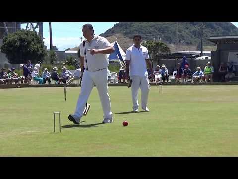 Final of 11th WCF Golf Croquet World Championship,Mt Maunganui,By of Plenty,New Zealand
