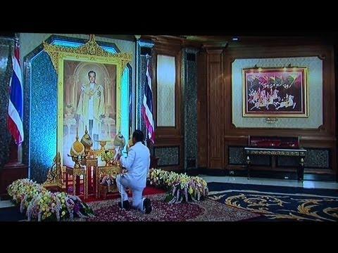 Thai junta chief gets royal nod, threatens protesters