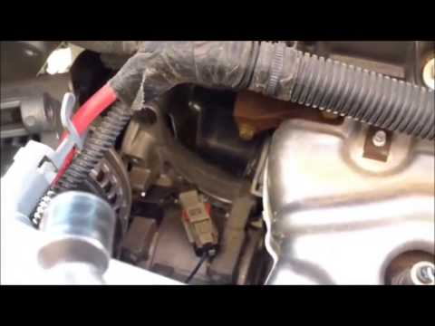 DIY How to replace install thermostat 2005 Chrysler Sebring